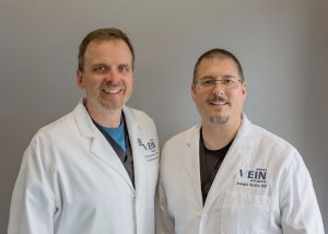 Dr. Joseph Spahr and Dr. Jeffery Schoonover